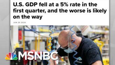 US Squandered Costly Lockdown, Failed To Stem Coronavirus   Rachel Maddow   MSNBC 6