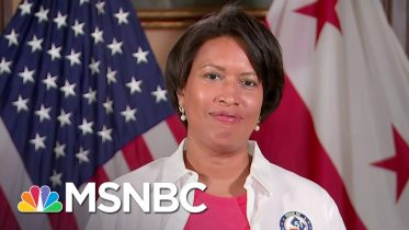 D.C. Mayor Bowser Says 'We're In A Historic March For Statehood' | Andrea Mitchell | MSNBC 2