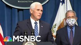 VP Pence Leads WH Coronavirus Briefing, Says 'Expect More' Trump Rallies   MSNBC 9