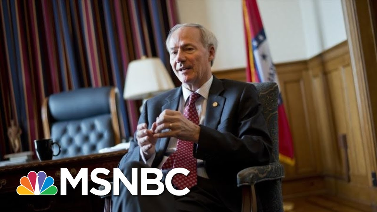 Gov. Asa Hutchinson: 'Consistent National Message' On Masks Is Very Important   MTP Daily   MSNBC 9
