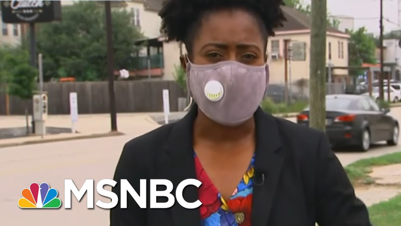 Texas Medical Center Hits 100% ICU Capacity As COVID-19 Cases Surge   MTP Daily   MSNBC 5