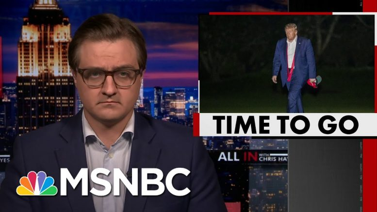 Hayes Calls For Trump To Resign: 'Urgent Matter Of Public Health, Public Safety' | All In | MSNBC 1