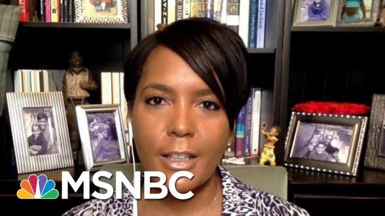Atlanta Mayor Asks Trump To Be The Leader We Need Right Now | Morning Joe | MSNBC 1