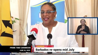 BARBADOS RE-OPENING AIRPORT 6