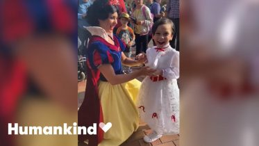Little boy's happy place is with Disney characters | Humankind 10