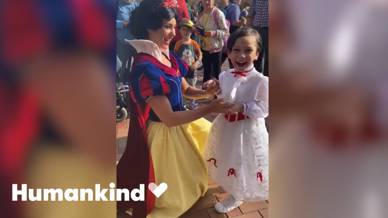 Little boy's happy place is with Disney characters   Humankind 4