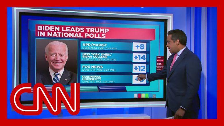 Biden widens lead over Trump in national polls 1