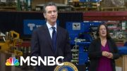 California Governor Orders Seven Counties To Close Bars, Nightlife | MSNBC 2