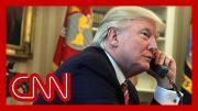 Trump's phone calls alarm US officials 2