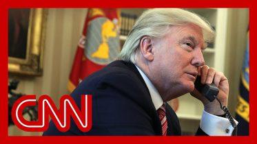 Trump's phone calls alarm US officials 6