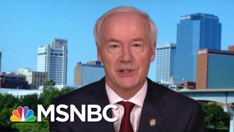 Arkansas Gov. Calls On Trump To Invoke Defense Production Act | Morning Joe | MSNBC 1