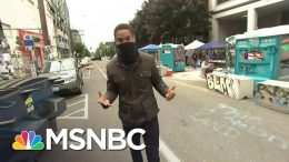 Inside Look At Seattle's Capitol Hill Organized Protest Zone After Shooting | MSNBC 9
