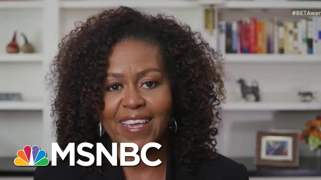 See Michelle Obama Demand 'Justice For Black Lives' In Moving Tribute To Beyoncé | MSNBC 3