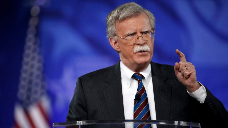 Bolton implores Canada to 'bear with' U.S. on Meng extradition 1