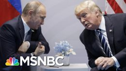 Trump WH Reportedly Knew About Russian Bounty Intel In 2019 | The 11th Hour | MSNBC 3