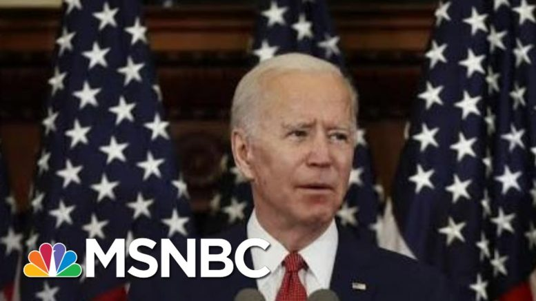 Joe Biden Speaks To A Nation In Pain: 'I Will Seek To Heal The Racial Wounds' | Deadline | MSNBC 1