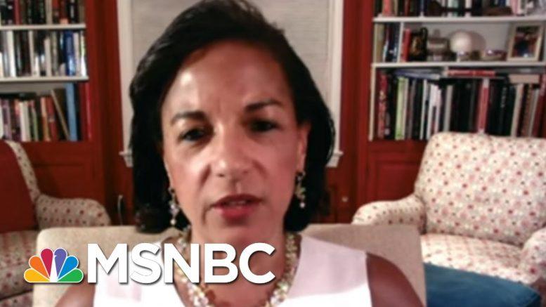 Rice: 'Makes No Sense' That Trump Wasn't Told Of Russia Bounties | Rachel Maddow | MSNBC 1