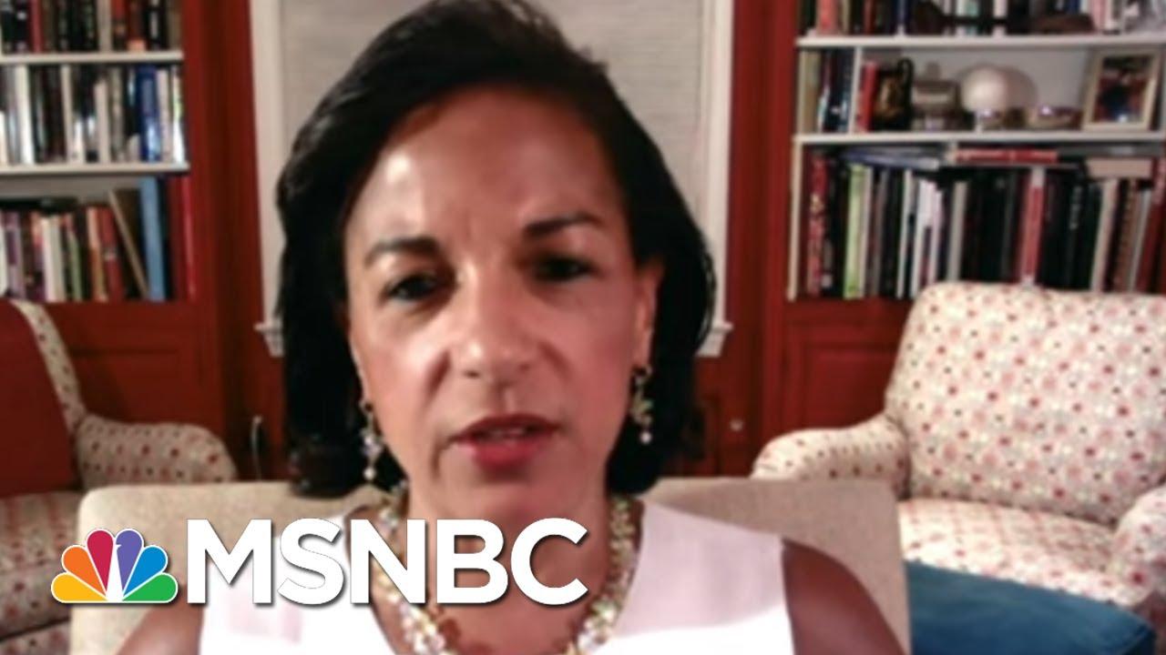 Rice: 'Makes No Sense' That Trump Wasn't Told Of Russia Bounties | Rachel Maddow | MSNBC 8