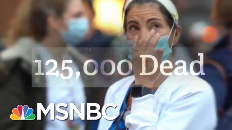 Biden Campaign Hits Trump's Virus Response In New Ad | Morning Joe | MSNBC 1