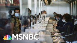European Union formally Bars U.S. Travelers Due To Coronavirus Threat | Stephanie Ruhle | MSNBC 1