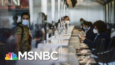 European Union formally Bars U.S. Travelers Due To Coronavirus Threat | Stephanie Ruhle | MSNBC 6