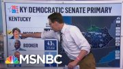 Amy McGrath Wins Kentucky Senate Democratic Primary, NBC News Projects | Andrea Mitchell | MSNBC 2