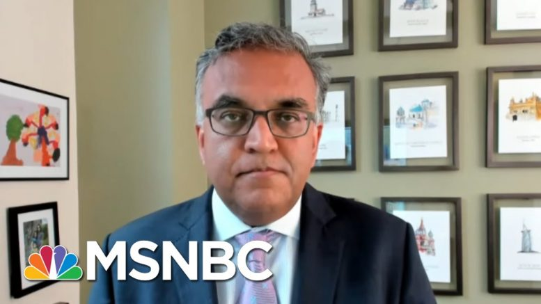 Dr. Jha: 'Need A National Coordinated Strategy' To Bring Virus Under Control   MTP Daily   MSNBC 1