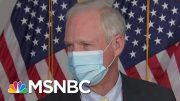GOP Senators Avoid Comments On Trump's Photo-Op, Use Of Tear Gas On Protestors | MTP Daily | MSNBC 3
