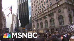 New York Protestors March Towards President Donald Trump Tower | MSNBC 9