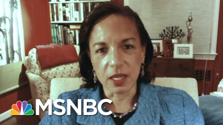 Rice: Everything Pres. Trump Does Is 'A Political Stunt Designed To Divide' | The Last Word | MSNBC 1