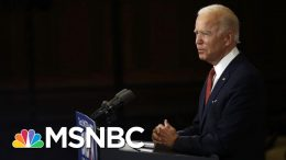 Joe Biden Hits Trump, Vows Not To 'Fan The Flames' Of Racial Division | The 11th Hour | MSNBC 8