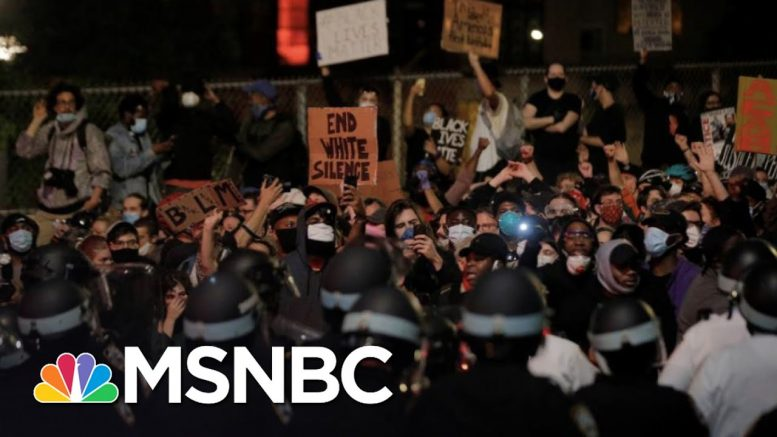 Protests Continue In New York Hours After 8PM Curfew | The 11th Hour | MSNBC 1