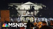 After Trump's Military Threats, Protests Grow Larger In Washington, DC | The 11th Hour | MSNBC 4