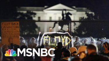 After Trump's Military Threats, Protests Grow Larger In Washington, DC | The 11th Hour | MSNBC 10