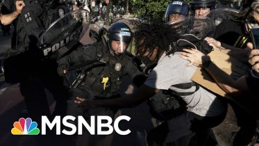 Republicans Dodge Questions On Trump's Violent Removal Of Peaceful Protest | The 11th Hour | MSNBC 6