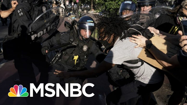 Republicans Dodge Questions On Trump's Violent Removal Of Peaceful Protest | The 11th Hour | MSNBC 1