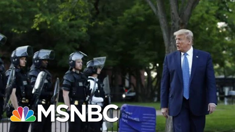 Over Half Disapprove Of Trump's Handling Of Protests: Poll | Morning Joe | MSNBC 1