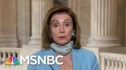 Speaker Pelosi: Trump's Photo Op Shows Contradiction, Inconsistency   Morning Joe   MSNBC 8