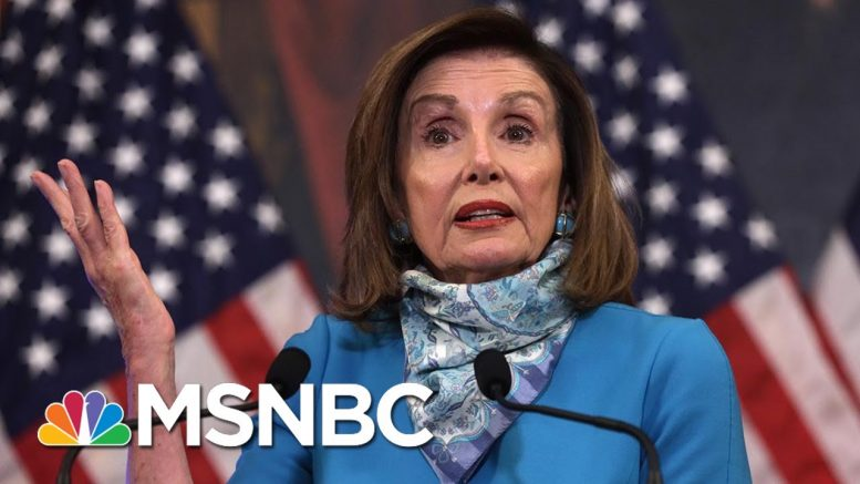 Pelosi Says House Taking Steps On Curbing Authoritarianism, Police Chokeholds | Morning Joe | MSNBC 1