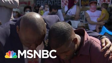 George Floyd's Son: 'No Man Or Woman Should Be Without Their Fathers' | Andrea Mitchell | MSNBC 16