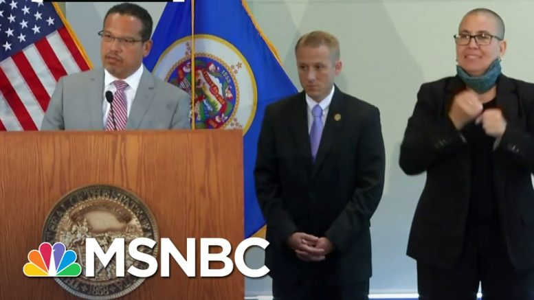 Charges Against Derek Chauvin Elevated To 2nd Degree Murder | Deadline | MSNBC 1