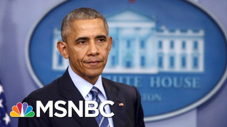 Obama: Young People's Activism Makes Me 'Optimistic' | MTP Daily | MSNBC 1