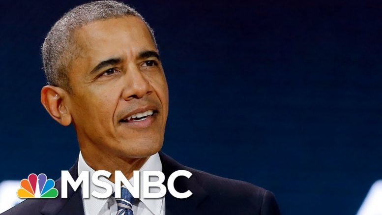 Trump Outshined As Obama Confronts Police Killing, Touts Greatest Protests Of His 'Lifetime' | MSNBC 1