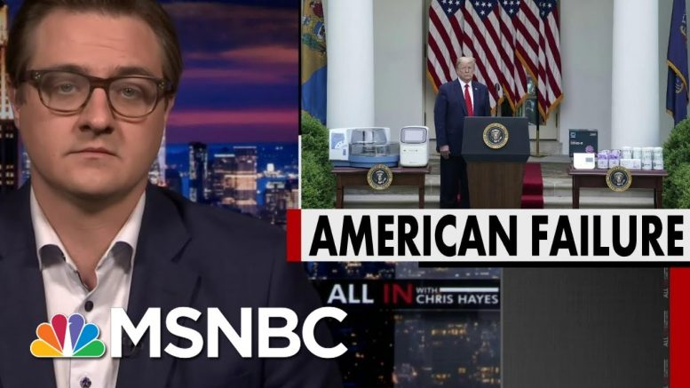 Chris Hayes: Trump's Attempts To Project Strength And Domination Are Not Working | All In | MSNBC 1