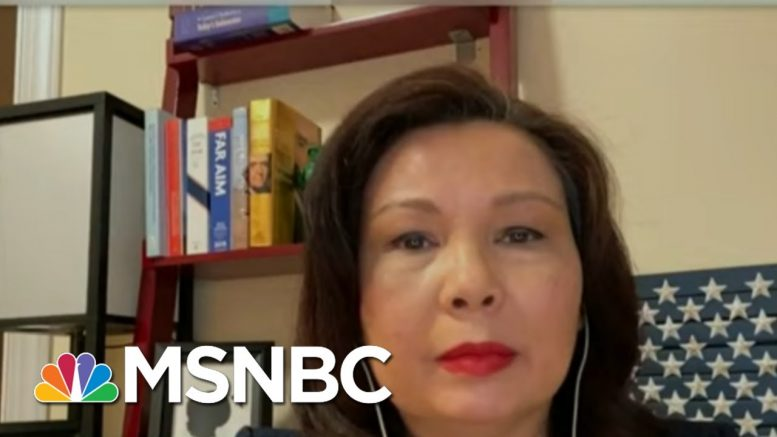 Sen. Duckworth: Military Force Against Peaceful Protesters A 'Betrayal Of The Troops' | MSNBC 1