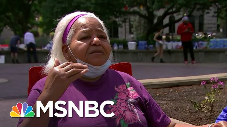 Reverend Who Marched With MLK In 1962 Reflects On Protests | The Last Word | MSNBC 1