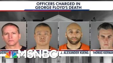 Emotional Minneapolis Protests As Officers Charged In Floyd's Fatal Arrest | The 11th Hour | MSNBC 6