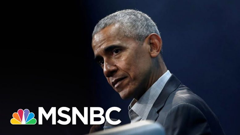 Rebuking Trump, Obama And Mattis Speak In Favor Of Protests | The 11th Hour | MSNBC 1