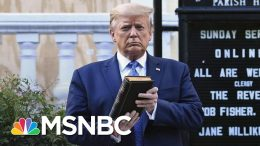 Jeremy Bash: Presidents Talk To Protesters, They Don't Clear Them Out | The 11th Hour | MSNBC 8