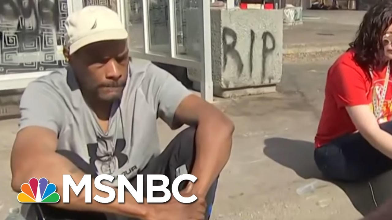 Minneapolis Resident On 'Solutions' To Bring City Back Together | Hallie Jackson | MSNBC 8
